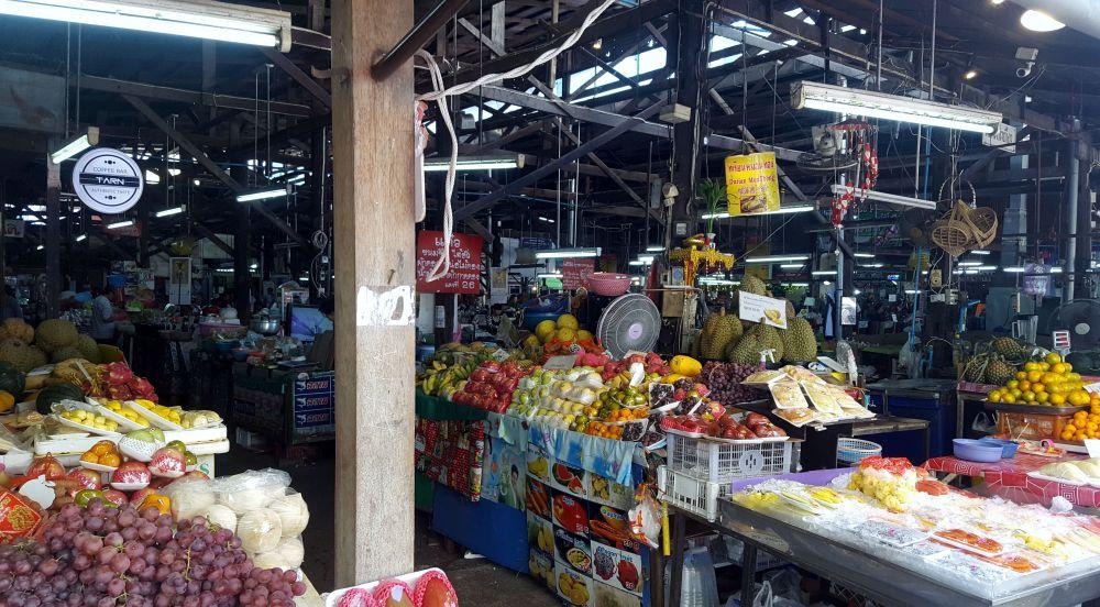 Thai market - street food