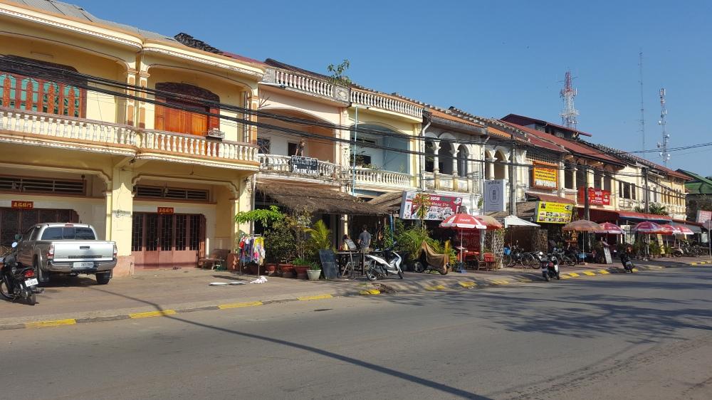 Kampot houses
