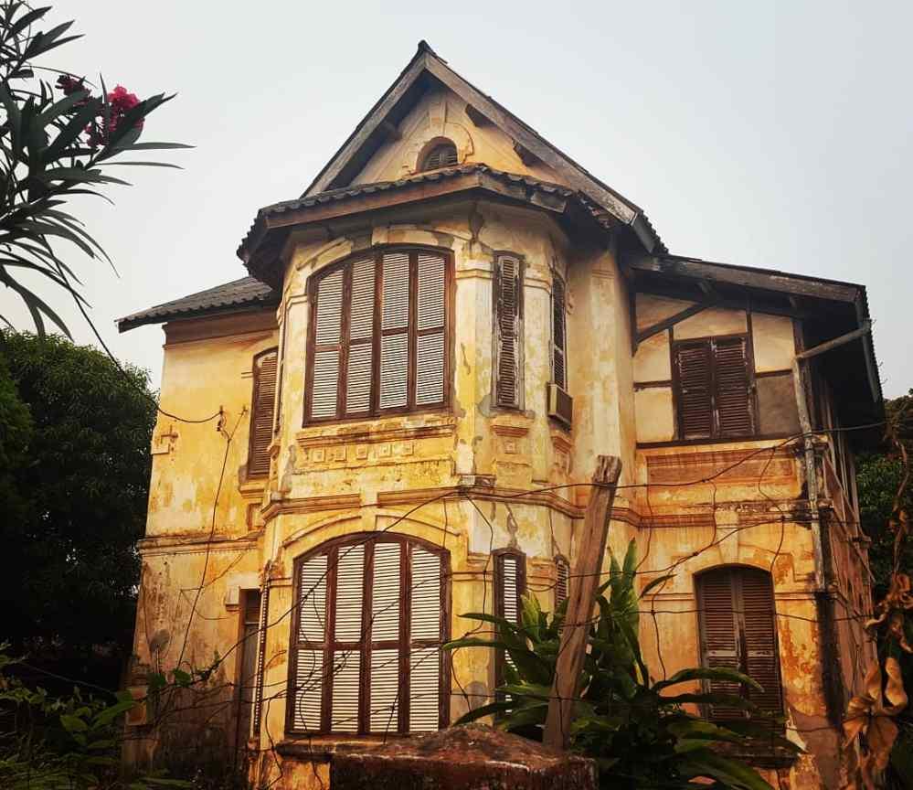 Maison coloniale Laos Vientiane